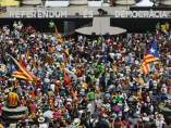 Manifestación en apoyo al referéndum