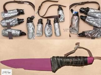 Armas atentado Londres