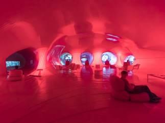 Interior de Dactiloscopia Rosa