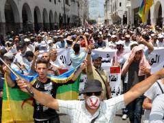Protesta por los derechos sociales del Rif en Rabat