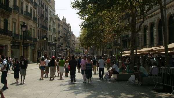 Port de L'Angel, en Barcelona