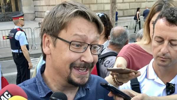 Imagend de Xavier Domènech, de Catalunya En Comú