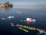 Denunciando la contaminación marina
