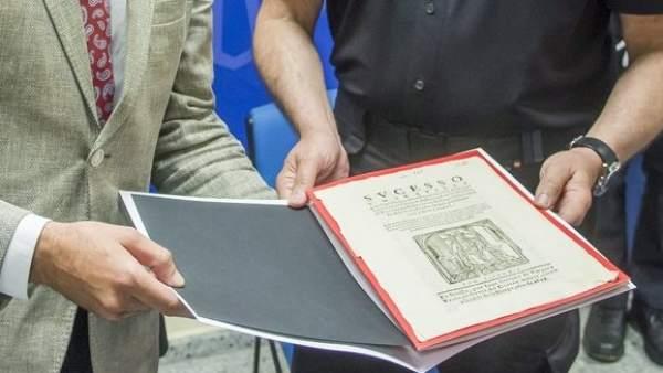 Documento antiguo Universidad de Sevilla