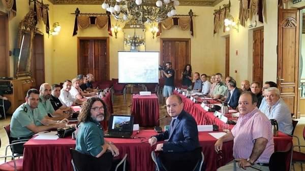 Reunión del Plan Infoca en Almería