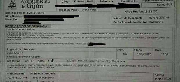 Multa a un sindicalista de la CNT por insultar a la Policía