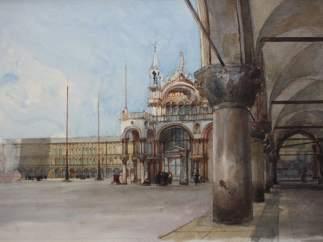 Plaza de San Marcos, de Eugenio Lucas Velázquez