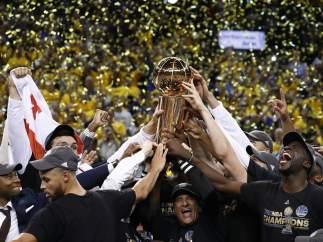 Los Warriors, campeones de la NBA 2017