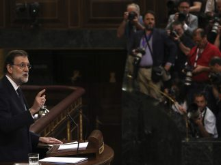 Rajoy, objetivo de las cámaras