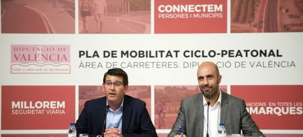 La Diputación inicia un plan de acción para reforzar la seguridad vial de los ciclistas en su red de carreteras