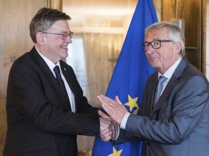 Puig se reúne con Juncker
