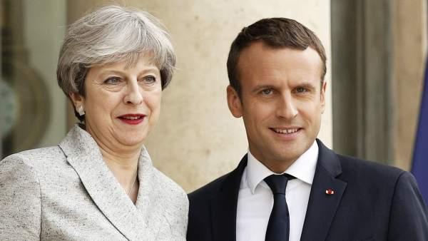 May y Macron