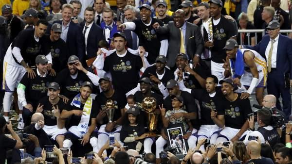 Warriors de Golden State campeones NBA