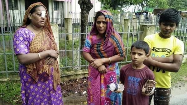 Desprendimientos de tierra en Bangladesh