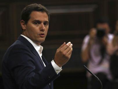 Rivera interviene en el Congreso
