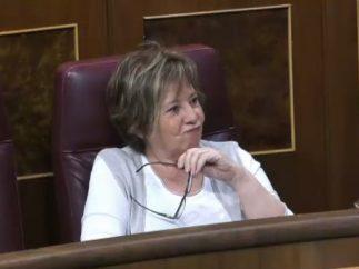Celia Villalobos, en el Congreso