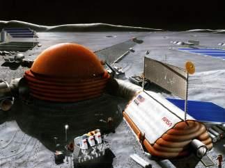 Base lunar de la NASA