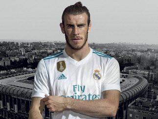 Bale viste la nueva camiseta del Madrid