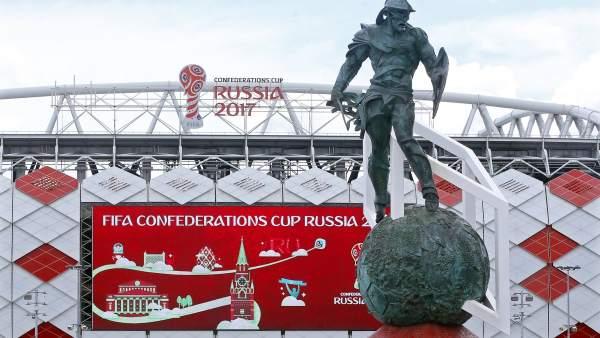 Copa Confederaciones Rusia 2017.