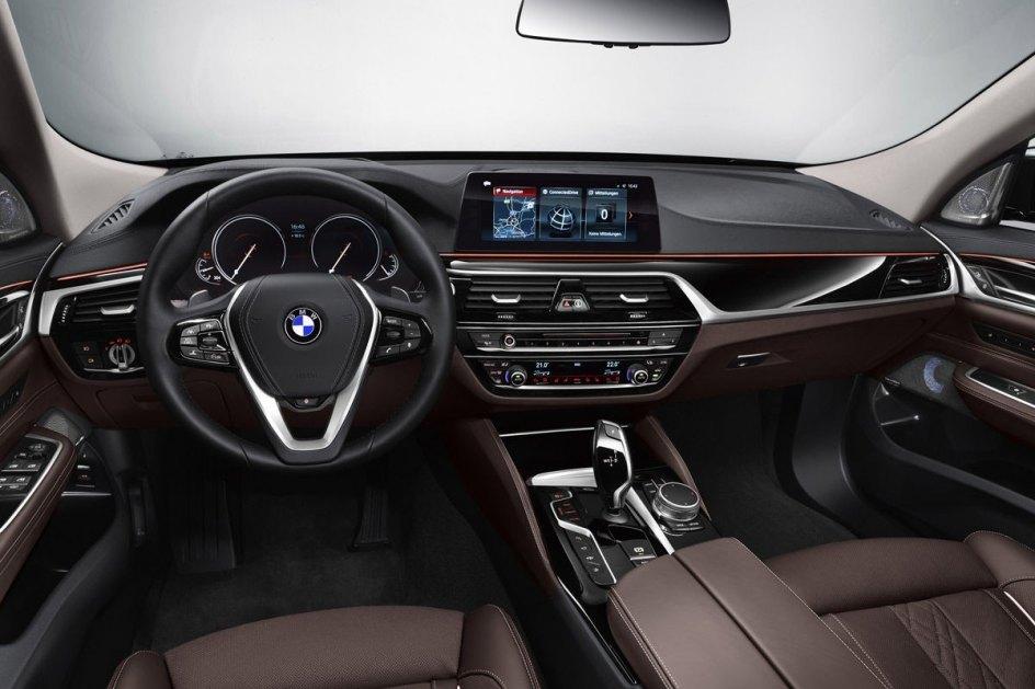 Interior del BMW Serie 6 Gran Turismo