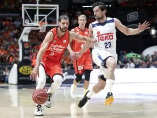 Diot y Llull, Valencia Basket - Real Madrid