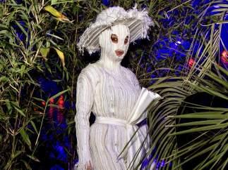 La cantante, productora y artista visual islandesa Björk.