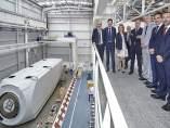 Manu Ayerdi visita  las instalaciones de Nordex Acciona Windpower