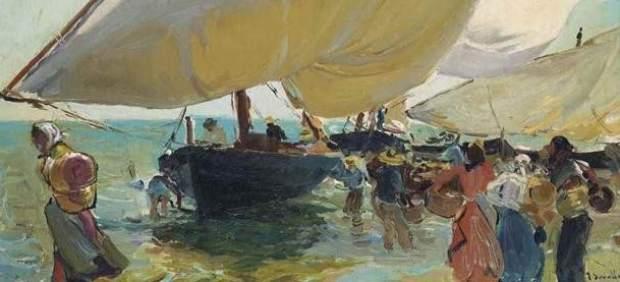 'Llegada de las barcas', de Joaquín Sorolla
