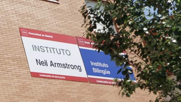 Instituto en Valdemoro