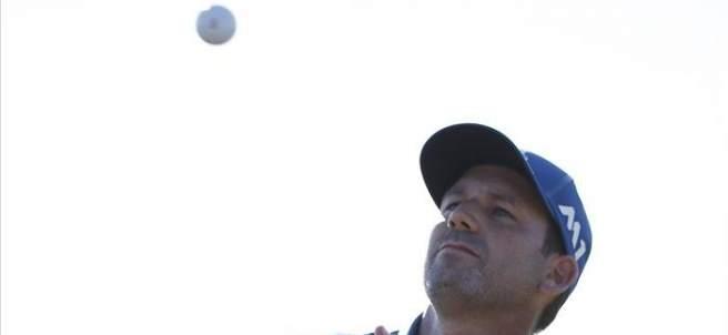 Sergio García en el US Open