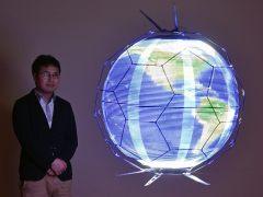 Crean el primer dron capaz de reproducir imágenes esféricas