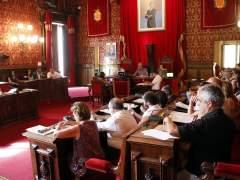 Plano general del pleno del Ayuntamiento de Tarragona
