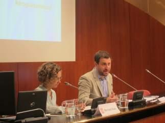 Los consellers d'Ensenyament y Salut, Meritxell Ruiz y Toni Comín