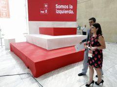 Últimos preparativos para el 39º Congreso del PSOE