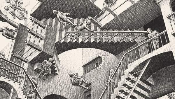 'Relatividad' (1953), de Maurits Cornelis Escher .