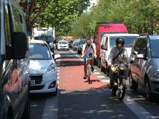 Carril ciclista Sagasta