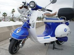Las motos Quazzar que usan en Outo