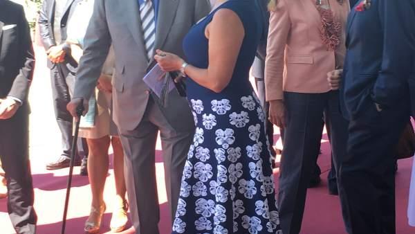 El rey Juan Carlos inaugura bodega BR&Vs