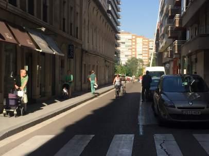 Cierre al tráfico del centro de Valladolid por contaminación por ozono