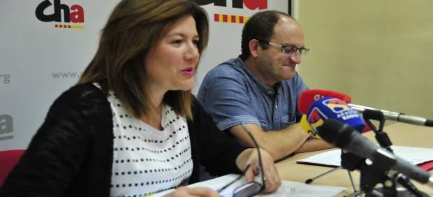 CHA ha presentado hoy en Teruel sus enmiendas a los PGE 2017 para esta provincia