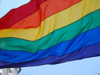 Bandera LGTB, LGBT, homosexual, orgullo gay