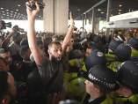 Protesta por el incendio de Londres
