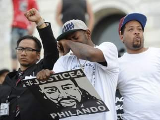 Manifestaciones en Minnesota por el asesinato de Philando Castile a manos de un policía