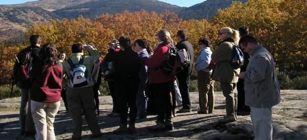 Participantes En Un Paseo Didáctico En Valsaín. Firma: MARM