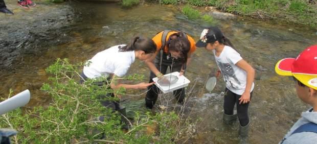 Escolares participan en el programa EducaDuero