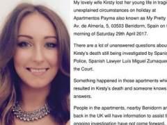 "La joven que murió al caer desde un balcón en Benidorm ""se lanzó por pánico"""