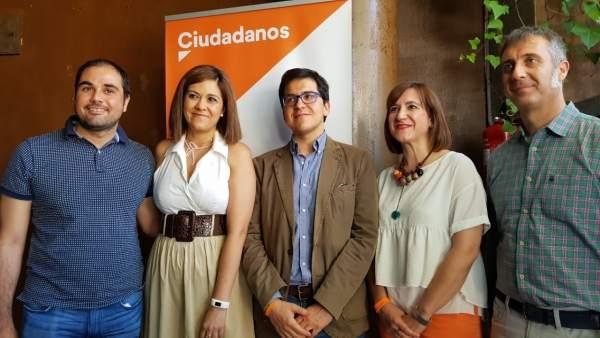 Acto de Ciudadanos en Zaragoza.