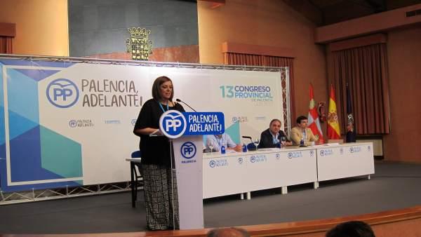 Armisén, durante el congreso del PP.