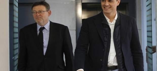 Ximo Puig y Pedro Sánchez en una imagen de archivo