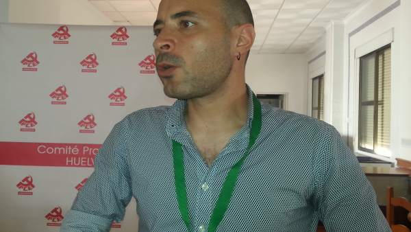 Rafael Sánchez Velo, nuevo secretario provincial del PCA en Huelva